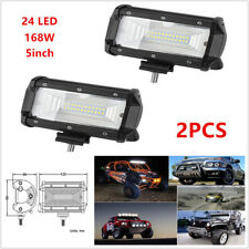 2PCS 168W Flood LED Car SUV Off Road Work Light Bar Fog Driving DRL Lamp 10- 30V