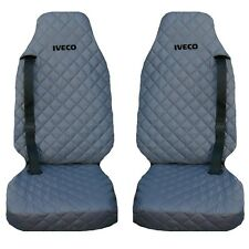 IVECO Stralis Truck Seat Covers 2 piece (1+1) GREY