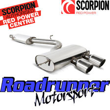 Scorpion Golf R32 MK5 Cat Back Exhaust System Stainless Resonated QUIETER SVW039