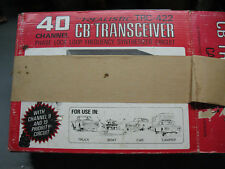 C B TRANSCEIVER  40 CHANNEL  TRC 422  REALISTIC  NIB