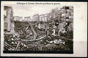 CPA -n°13  Haut Rhin CERNAY  1ere Guerre Mondiale  1914/1917