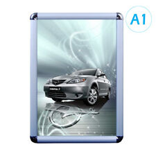 CLEARANCE! Snap Frame, Poster Frame - A1 Round Corner Silver 25mm Profile x1pcs