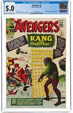 The Avengers #8 (Sep 1964, Marvel Comics) CGC 5.0 VG/FN | Kang the conqueror