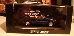 1/43 Minichamps Peugeot 306 Convertible Cabriolet Met Blue
