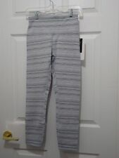 New With Tag Lululemon High Times Pant Cyber Stripe White Silver Fox Size 8