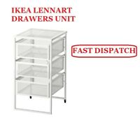 IKEA LENNART 3 DRAWER UNIT WITH CASTORS- IDLE FOR OFFICES AND HOME STORAGE