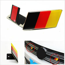 1 Pcs Aluminum Alloy 3D Germany German Flag Emblem Badge Car SUV Grille Sticker