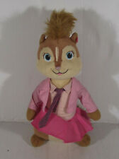 """10"""" TY BEANIES BRITTANY SOFT TOY PLUSH ALVIN AND THE CHIPMUNKS  CHIPETTES"""