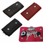 Cute Men Women Hot Leather Door Key Chain Holder Case Organizer Pouch Bag Wallet