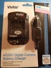 Vivitar AC/DC NP-BG1 FT1/BD1 FD1 FG1 Battery Charger Fits Sony C8 Easy Finder