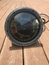 Vintage WW2? US Navy Ship Brass Sperry Gyro Compass Mod 6 Battleship Grey