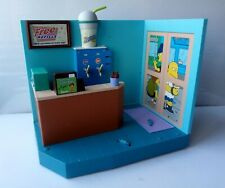 SIMPSONS PLAYMATES KWIK-E-MART PLAYSET LOOSE