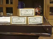 WW2 GERMAN EMPTY PISTOL AMMO CARTONS SET OF 3 (REPRO)