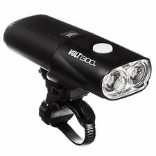 CatEye Black Volt 1300 RC Road Bike Light-Front