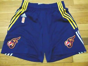 ADIDAS AUTHENTIC WNBA INDIANA FEVER REVOLUTION 30 GAME SHORTS SIZE S nba