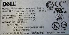 Dell 7J658 PowerVault 220S 584W Netzteil 90 Tage Rtb Garantie