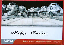 UFO - MIKE TRIM (MT2) - VERY LIMITED Autograph Card - SPECIAL EFFECTS DESIGNER