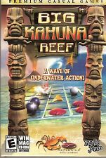 Big Kahuna Reef A Wave of Underwater Action Puzzle Video Game For PC Win Mac