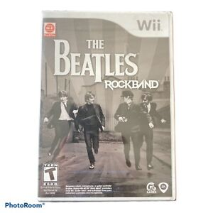 The Beatles Rock Band Nintendo Wii Game 2007 New Factory Sealed
