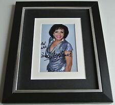 Shirley Bassey SIGNED 10x8 FRAMED Photo Autograph Display James Bond Music COA