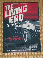 The Living End - 2017 Australian Laminated Tour Poster- Staring Down The Highway