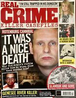 Real Crime Killer Casefiles #046 UK Magazine 2019 ROTTENBURG CANNIBAL New