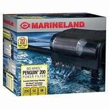NEW Marineland Penguin 200B Bio Wheel Power Filter - 200GPH 30 to 50-Gallon Tank