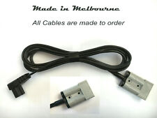 Waeco Fridge Cable 12V 2.5M Right Angle to 50A Anderson Plug New & Improved