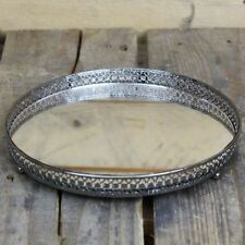 Silver Candle & Tea Light Plates/Trays
