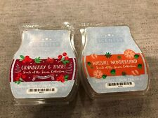 """Scentsy """"Scents of the Season"""" Wax Melts Discontinued Scents Htf"""