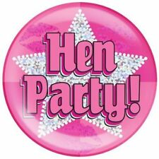 Hen Night Metal Party Badges & Pins Less than 10