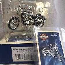 Hallmark Harley-Davidson Christmas Ornament 2000 Softail Deuce Motorcycle 2005