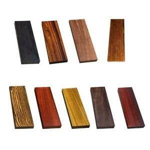 Wood Knife Scale Handle Blanks DIY Knives Making Plate Material 12x4x1cm