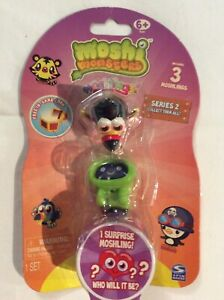 Moshi Monsters Moshlings Series 2 - 1 Pack Of 3, One Is A Surprise Figurine NEW