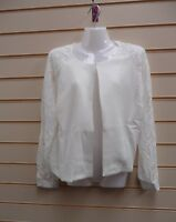 KALEIDOSCOPE CREAM LACE JACKET SIZE 18 PARTY/ EVENING  G011
