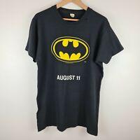 Vintage 1989 Batman Movie DC Comics Screen Stars TShirt August 11 Size XL