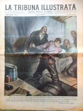 La Tribuna Illustrata 23 marzo 1930 Incendio Montvernier Terranova Gustavo Papa