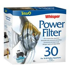 TETRA WHISPER 30 POWER FILTER 150 GPH  AQUARIUMS  to 30 GALLONS  NEW