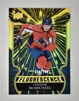 2020-21 UD Series 2 Flouresence Gold #F-5 Connor McMichael RC /150