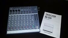Tascam M-08 Professional Compact Audio Mixer