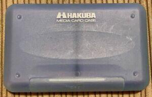 HAKUBA 8 SD Card Media Card Case Wallet  Hard Sided Great Protection LNC
