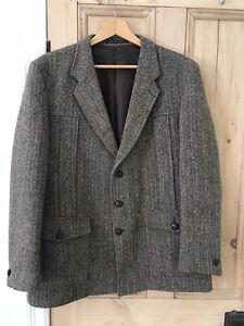 Vintage Harris Tweed Mens Jacket 44 Reg