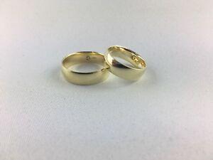 Ehering / Partnerring / Freundschaftsring 585 Gold (6 mm breit)