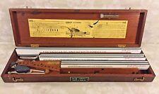 Vtg Leroy Lettering Kit by Keuffel & Esser Co. in Wood Case 1950