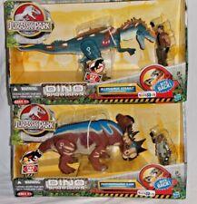 DINO SHOWDOWN Exclusive ALLOSAURUS Assault PACHYRHINOSAURUS Clash Jurassic Park