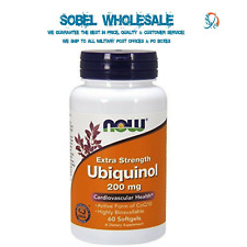 NOW Foods 200 mg Extra Strength Ubiquinol 60 Soft Gels (ES2)