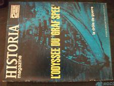 **o Historia magazine 2GM n°4 Odysée du Graf Spee / La drôle de guerre