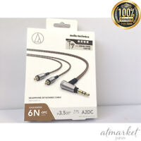 Audio technicare cable for headphone attachment detachment inner ear HDC213A/1.2