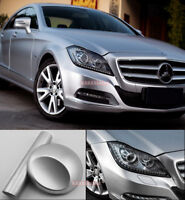 Multiple Car Satin Matte Metallic Chrome Vinyl Wrap Sticker Stretch Silver - CF