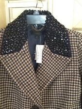 J Crew Collection Coat in Jeweled Houndstooth size 6